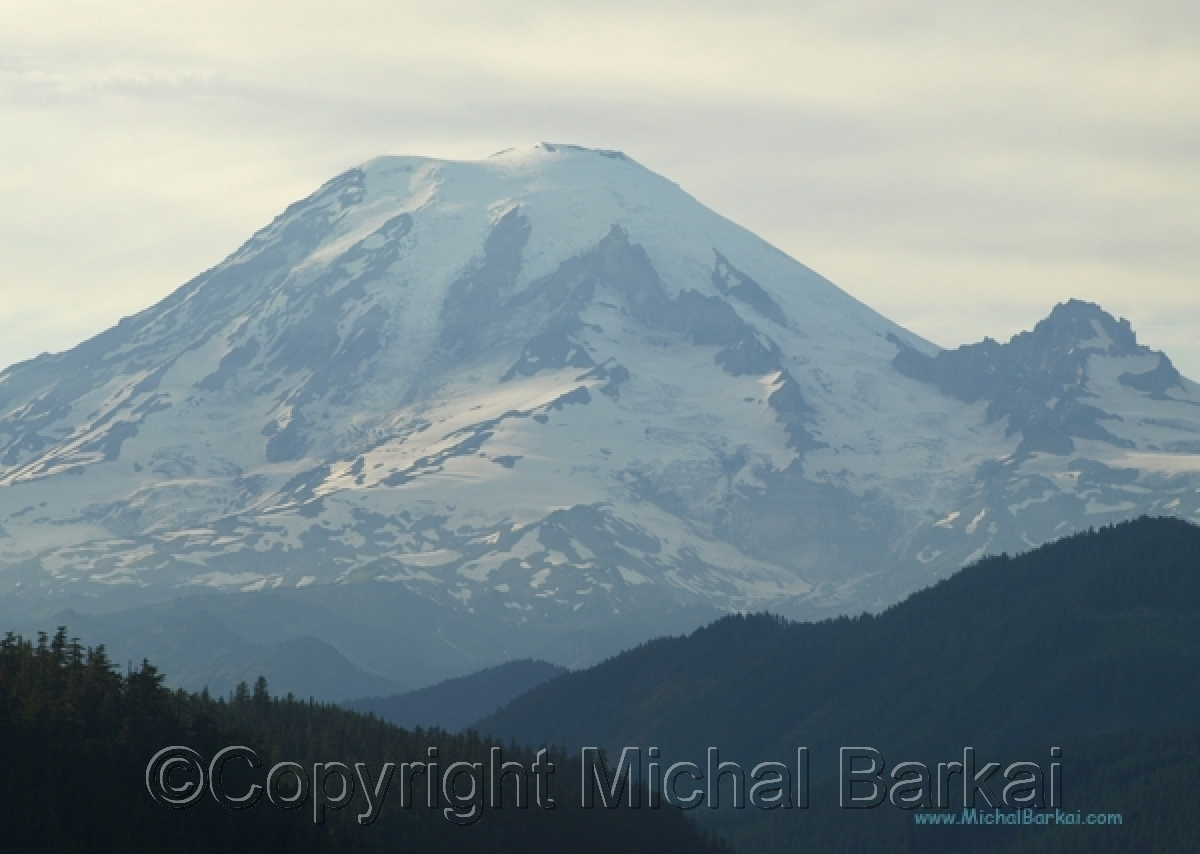 Ranier, Overcast (large view)