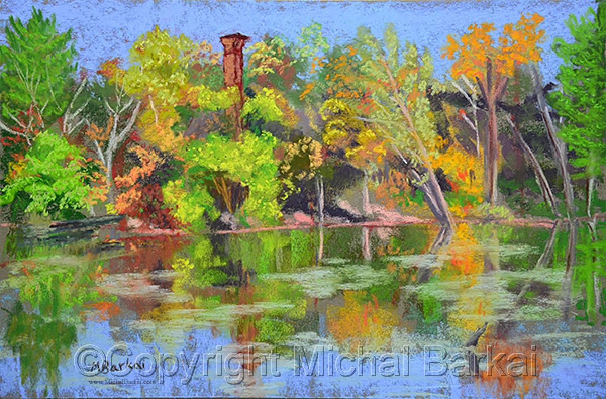Autumn Pond (large view)