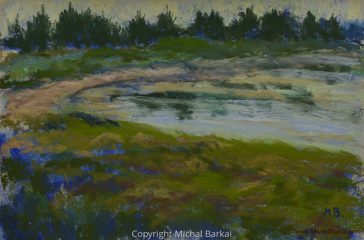 Vinalhaven Beach Study (large view)