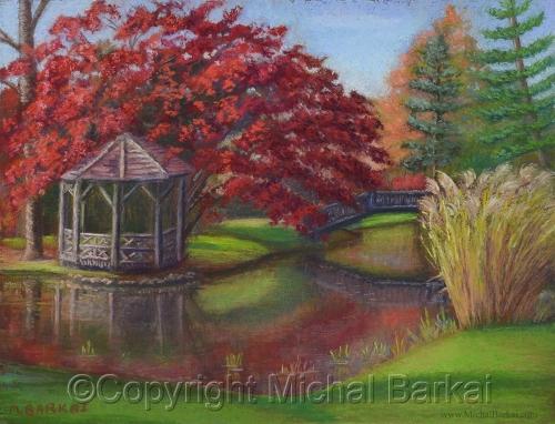 Pleasantdale Autumn (+) by Michal Barkai Art