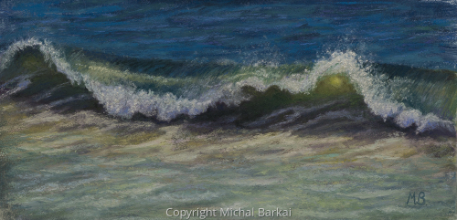 Wave by Michal Barkai Art