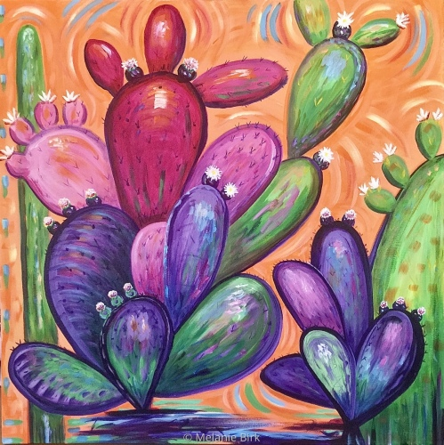 Cacti at Play