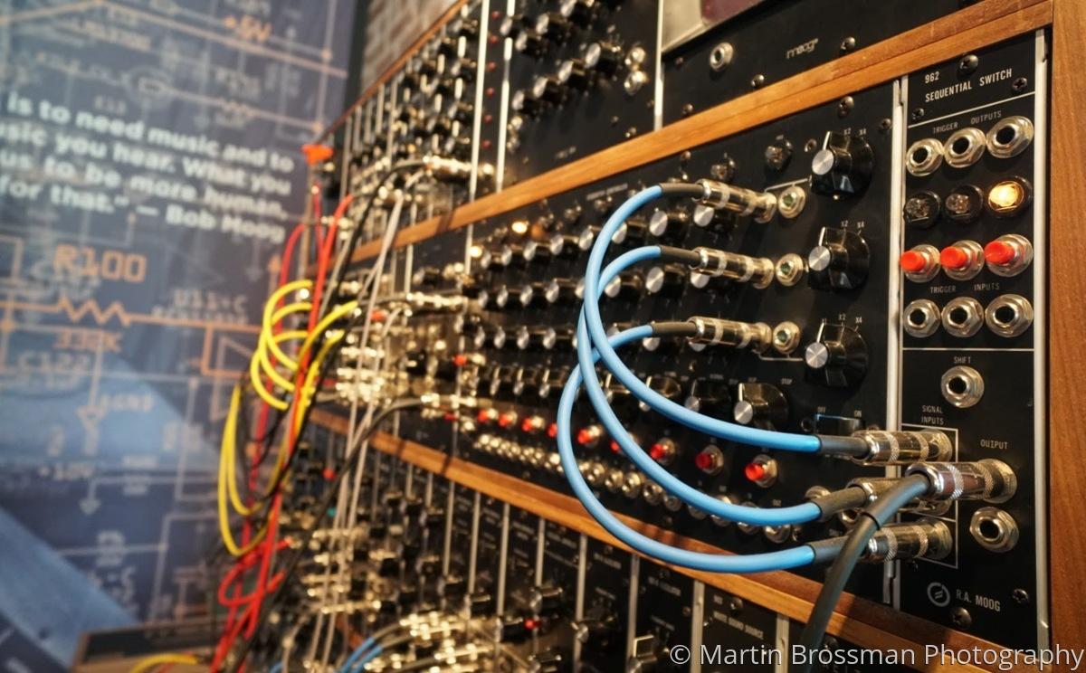 Keith Emerson's Backup Moog (large view)