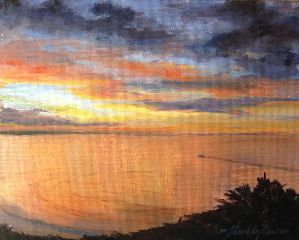 Nantasket Sunset (large view)
