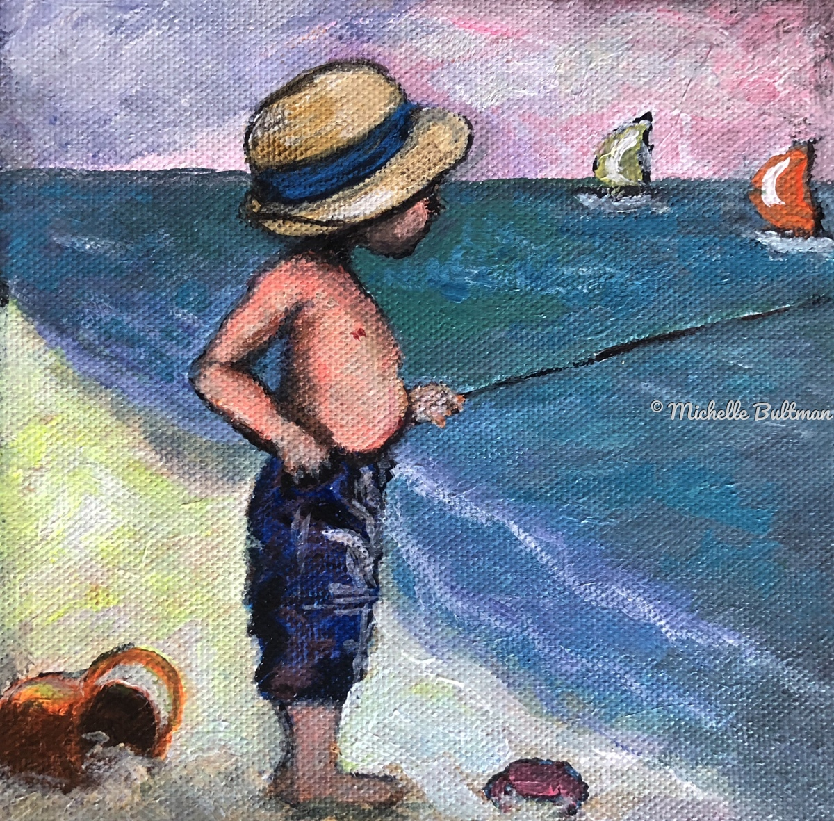 Little Fisherman (large view)