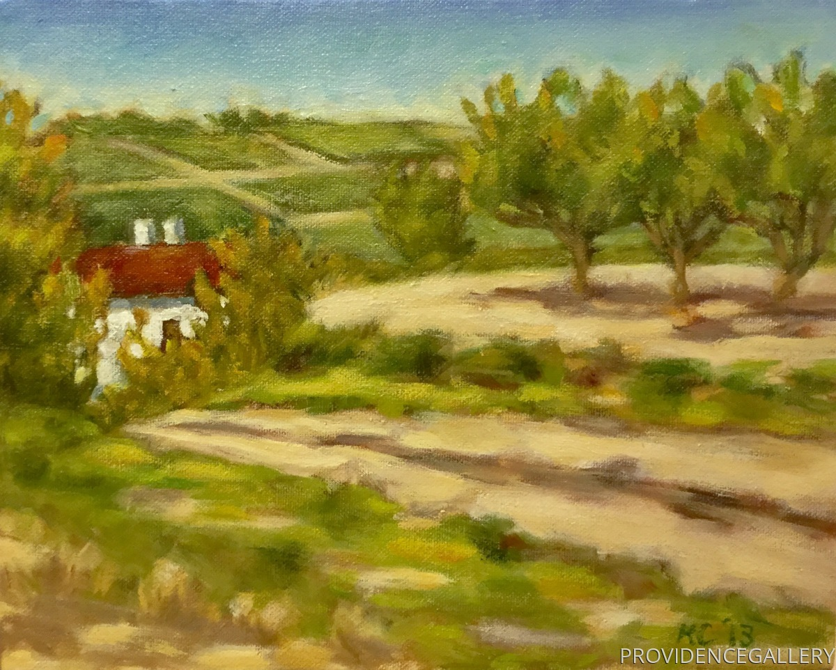 Study for Road to Provence (large view)