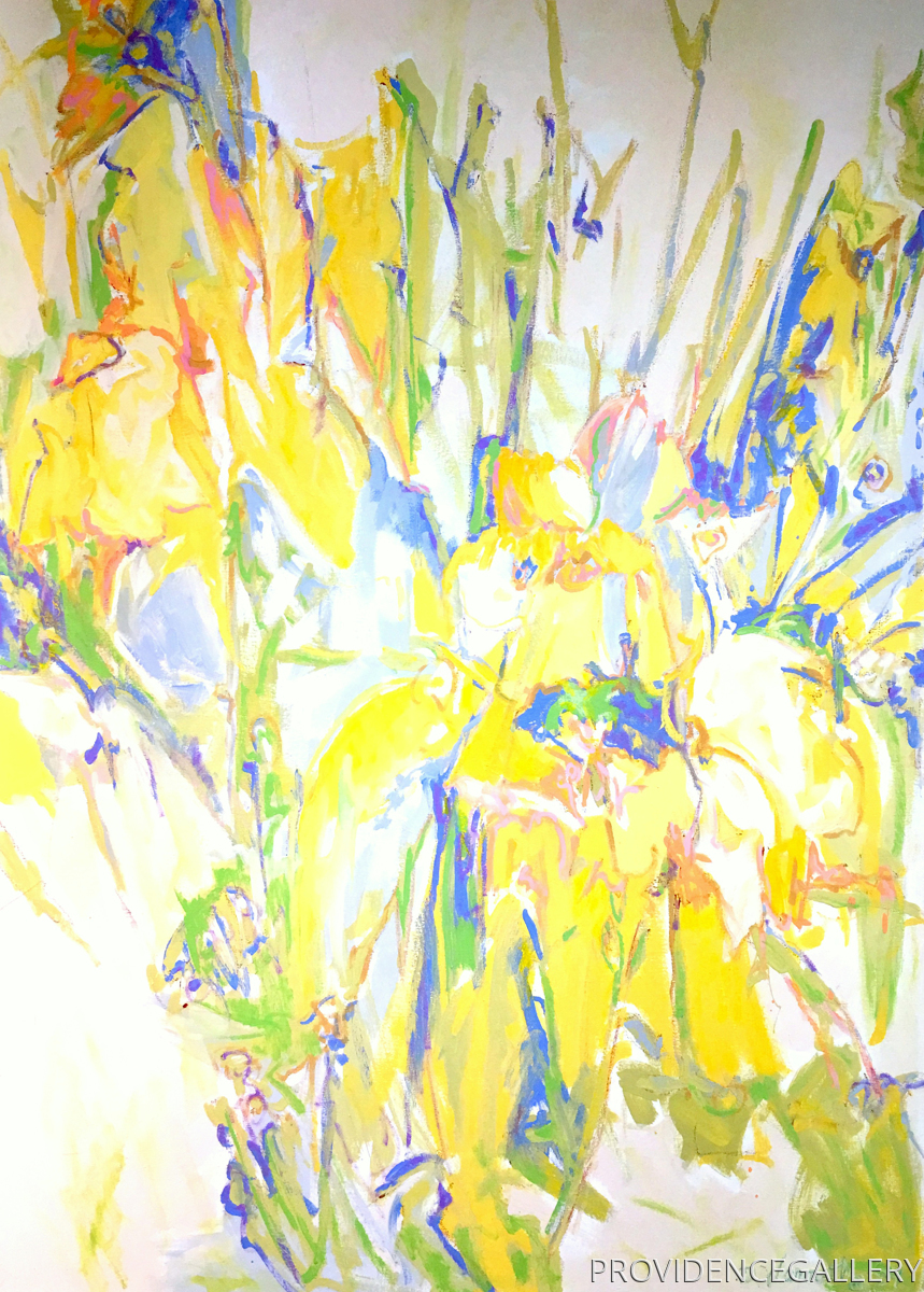 Spring Garden Iris I (large view)