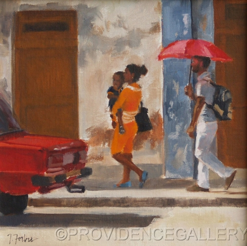 Cuban Stroll by PROVIDENCE GALLERY