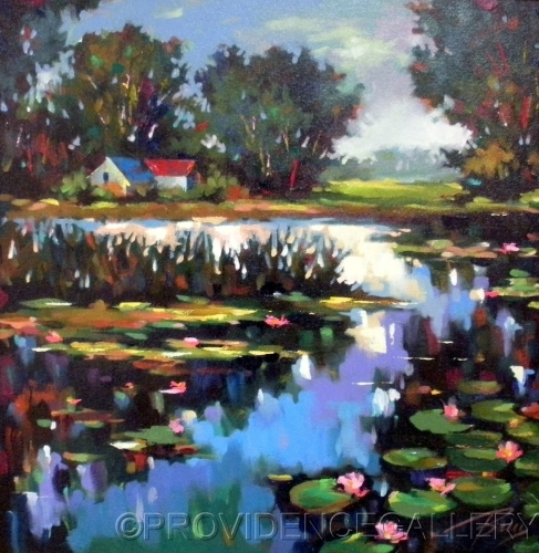 Waterlilies by PROVIDENCE GALLERY