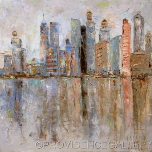 New York Skyline by PROVIDENCE GALLERY