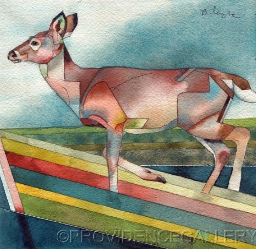 Deer #11, Straightshot by PROVIDENCE GALLERY