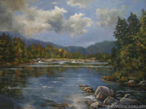 Carolina Mountain Lake