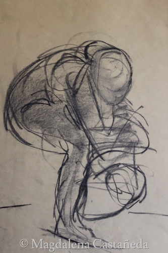 Moving Figure gesture study