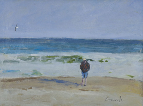 Beach Comber by Myles Cavanaugh