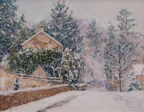 Snowfall, Brookville