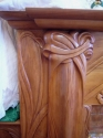 Art Nouveau Fire Surround Detail 2 (thumbnail)