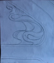 Art Nouveau Wood Carving Design (thumbnail)