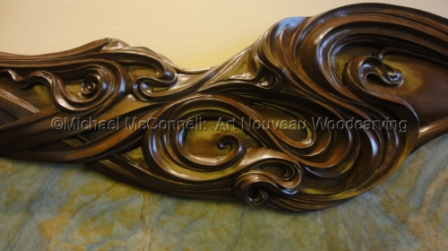 Art Nouveau Fire Surround  (thumbnail)