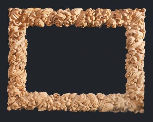 """"""" Cornucopia Mirror Frame"""" (large view)"""