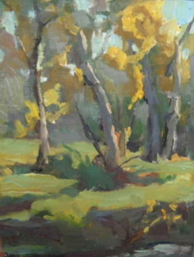 """ Fall Forest"" (large view)"