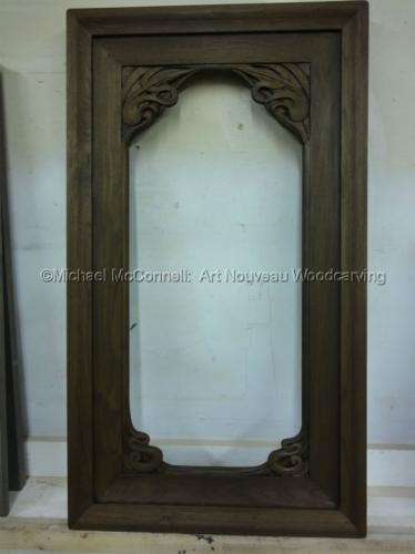 Art Nouveau Door Frame Accent