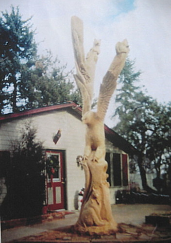 Wildlife Tree Sculpture
