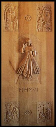 -Christ Figure Door