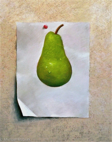 One Pear by Michael McGurk