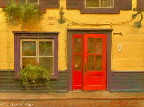 Red Door by Michael McGurk