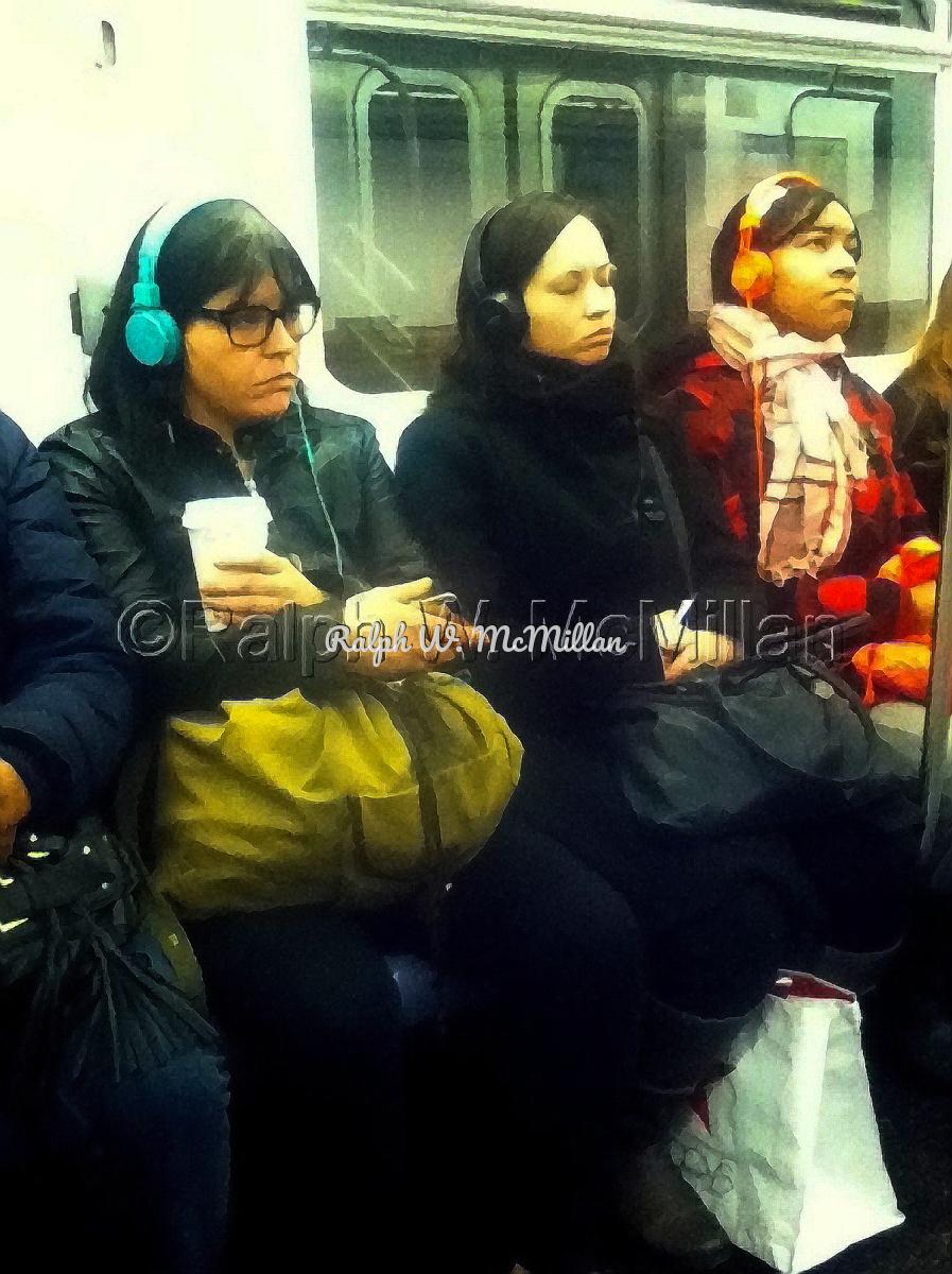 On N.Y.C. Subway (large view)