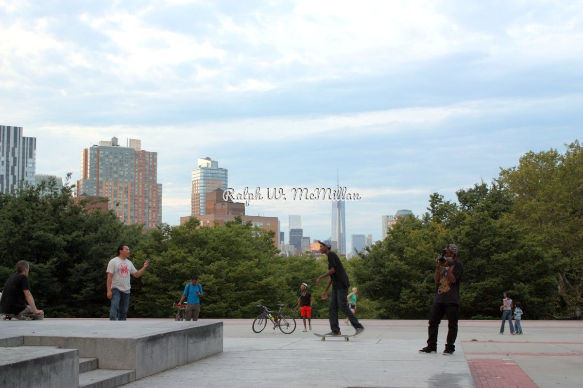 In Fort Greene Park, Brooklyn # 1 (large view)