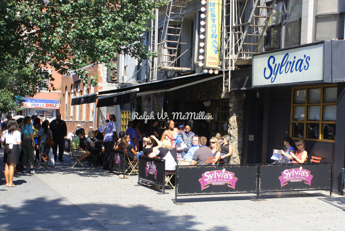 Sylvia's Cafe, In Harlem USA (large view)