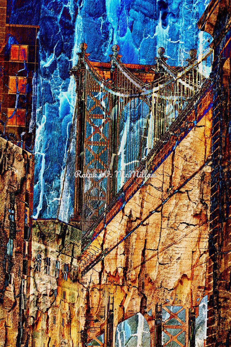 Manhattan Bridge, In N.Y.C. (large view)