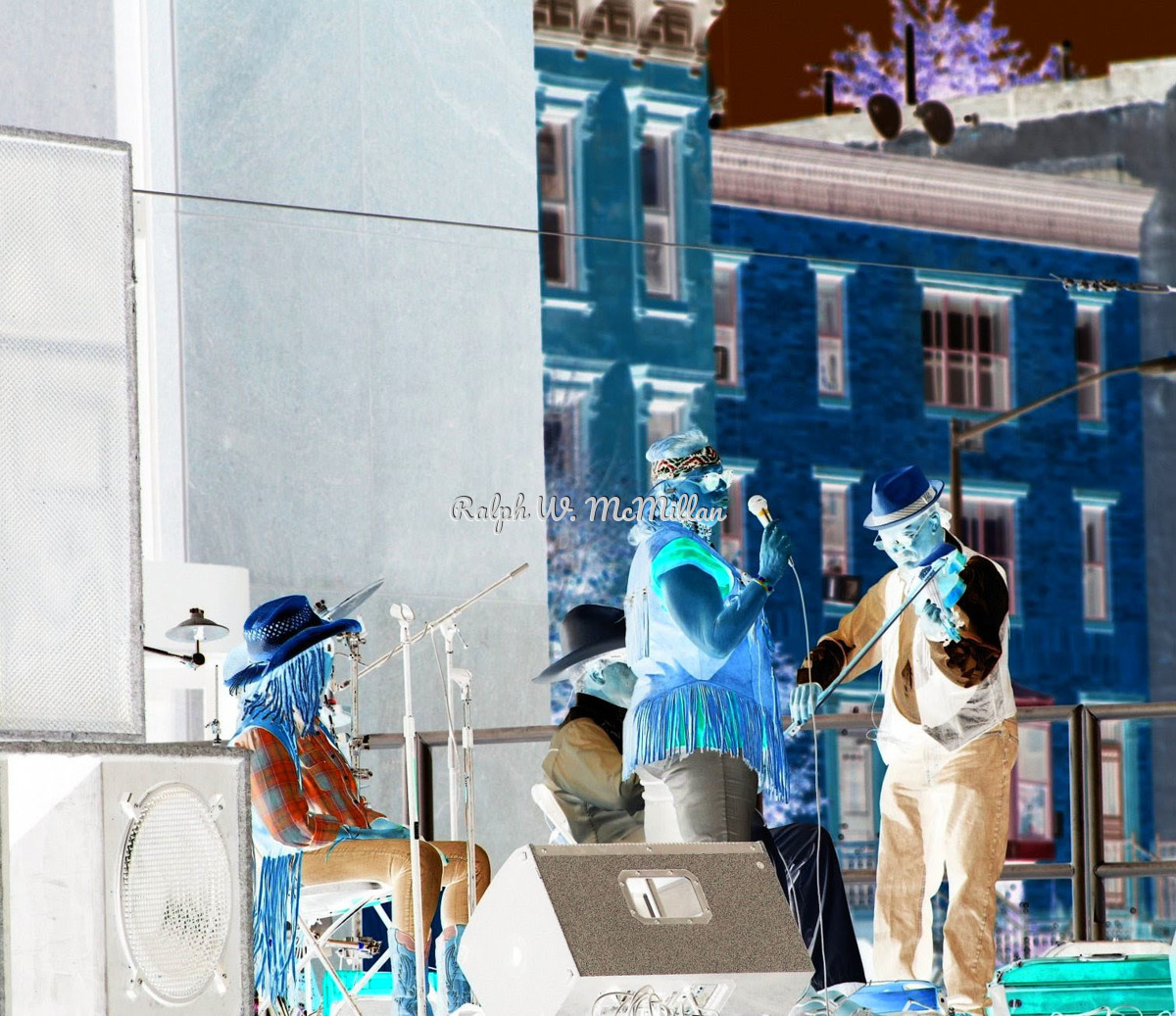 Hoedown Band in Harlem (large view)