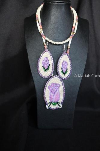 Modern Ute Rose Medallion  by Mariah Cuch