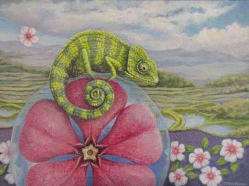 Chameleon by Marianne Deaver
