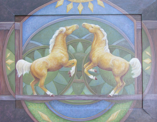 Yellow Horses by Marianne Deaver