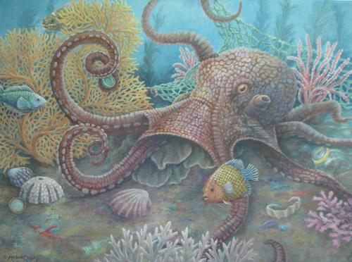 Octopus Garden by Marianne Deaver