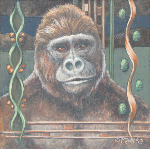 Gorilla by Marianne Deaver