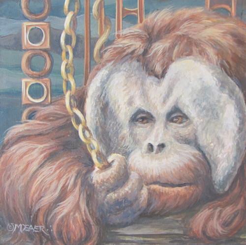 Orangutan by Marianne Deaver