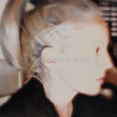 Auto Portrait Pastel Study