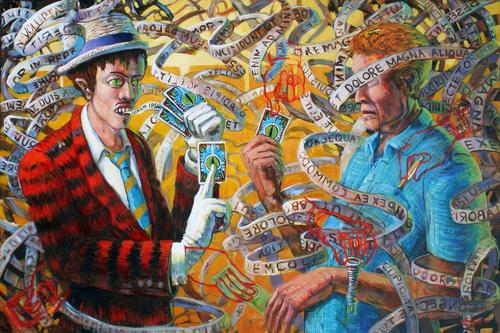 Shuckster & Rube by Michael McDevitt