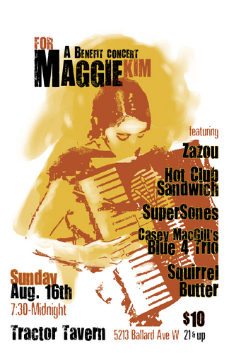 """A Benefit Concert for Maggie Kim"""