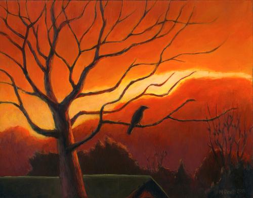 Evening Crow