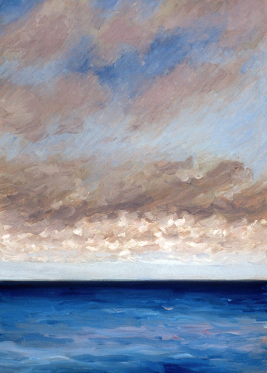 Clouds over Ocean at Normandy (Cat. No. 201) (large view)