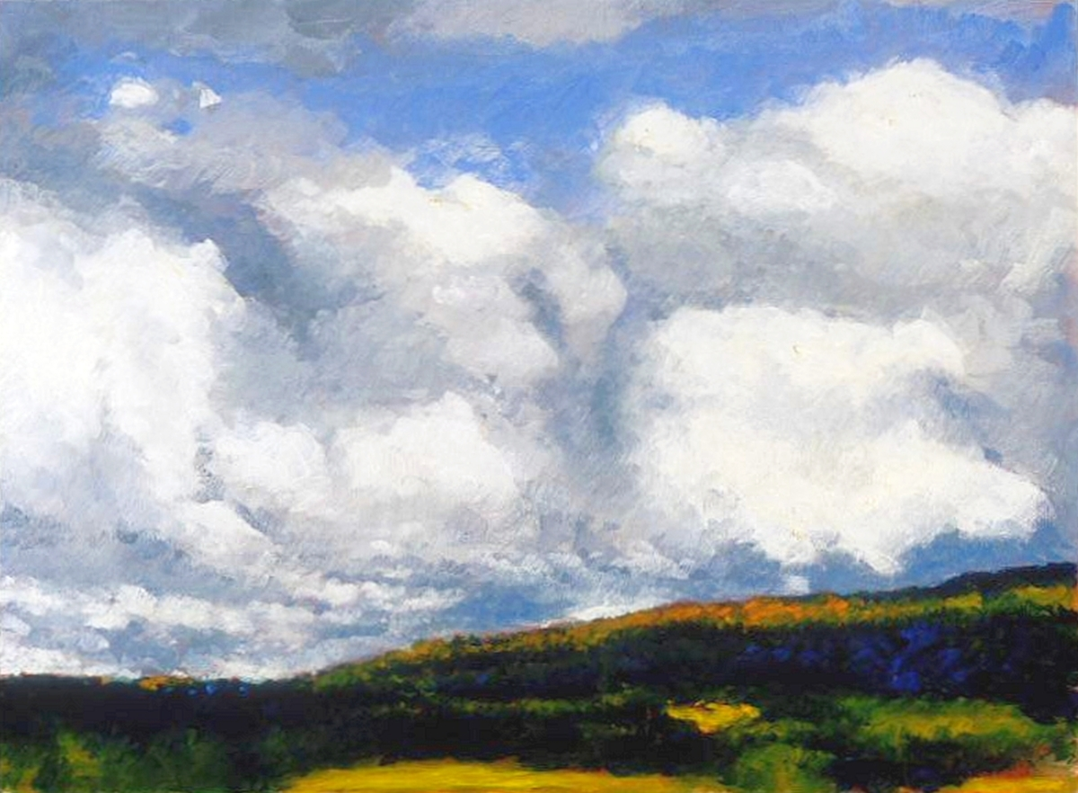 Clouds, Upstate New York (Cat. No. 205) (large view)