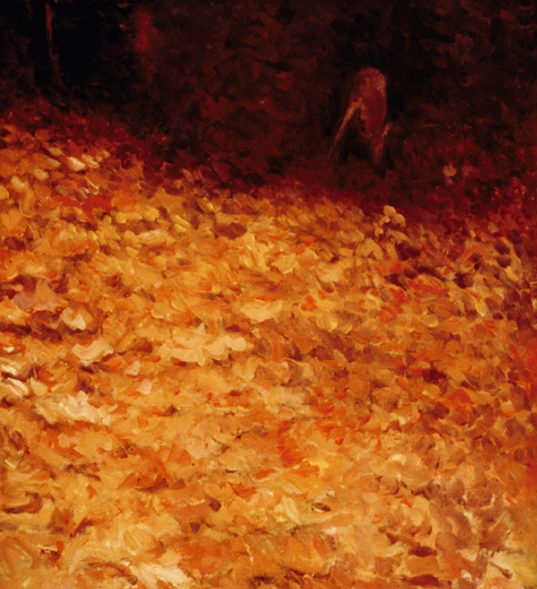 Deer In the Autumn Woods, #1 (Cat. No. 301) (large view)