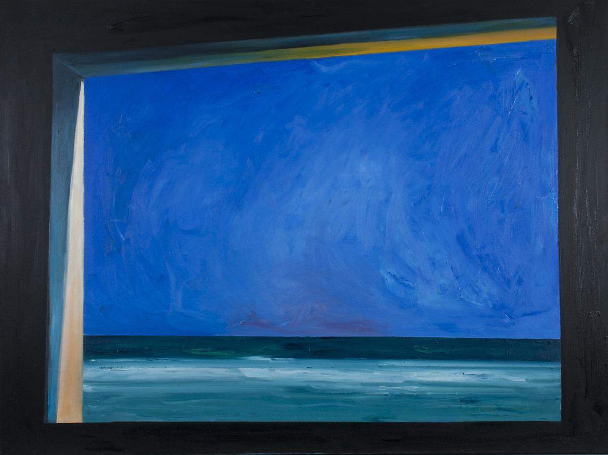 Ocean & Sky through Blockhouse Window in Normandy, #3 (Cat. No. 333) (large view)
