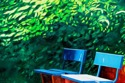Park Bench in Mainz, Germany, #1 (Cat. No. 371) (thumbnail)