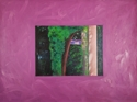 Oil on canvas glued to canvas of landscape at Nuit St. George, France. (thumbnail)